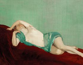 F.Vallotton / Reclining Nude.../ 1914