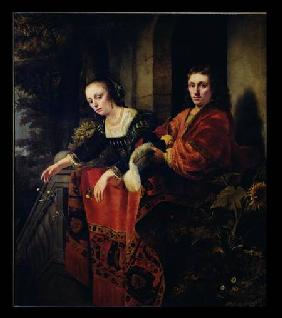 Portrait of a Husband and Wife 1654