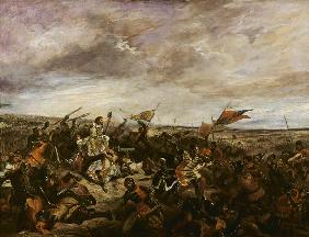 King John II 'the Good' (1319-64) of France at the Battle of Poitiers, 19th September 1356 1830
