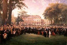 Reception of the Mayors of France at the Elysee Palace, 22nd September 1900 1904