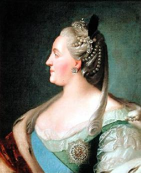 Portrait of Empress Catherine II the Great (1729-96) after 1763