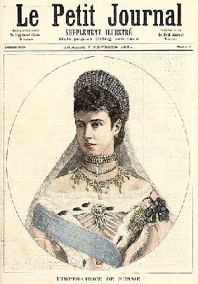 Empress of Russia, from ''Le Petit Journal'', 7th February 1891