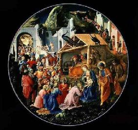 Adoration of the Magi (with Filippo Lippi) c.1445