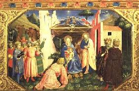 Adoration of the Magi, from the predella of the Annunciation Altarpiece c.1430-32