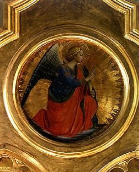 The Angel of the Annunciation from the altarpiece from the Chapel of San Niccolo dei Guidalotti in t