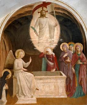 The Resurrection of Christ and the Pious Women at the Sepulchre 1442