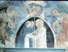 Christ with Pilgrims (fresco)