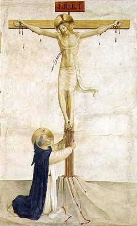 Crucifixion with St. Dominic