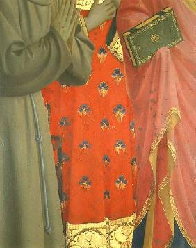 Detail from the Annalena Altarpiece (tempera and gold leaf on panel) (detail of 43957)