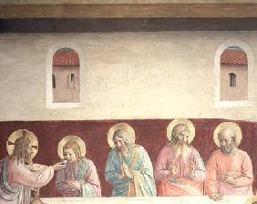 Detail from The Last Supper 1442