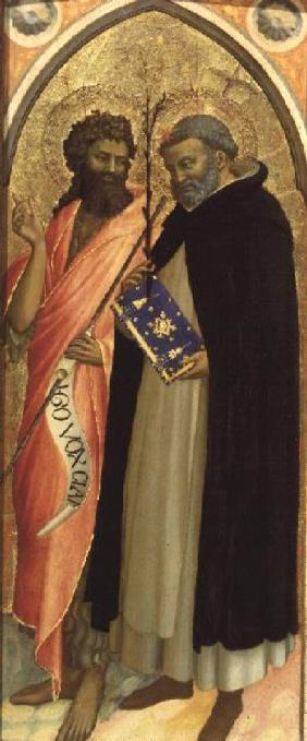 St. John the Baptist and St. Dominic (panel)