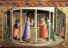 The Presentation in the Temple, from the predella of the Annunciation Altarpiece