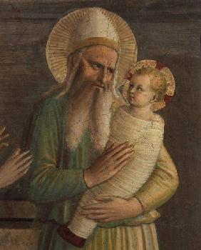 Simeon with the Christ Child (Detail BEN76098) 1442