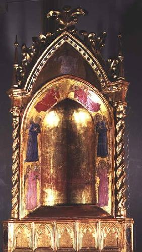 Tabernacle with Christ and the Angels 1425-30