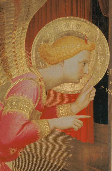 The Annunciation (detail)