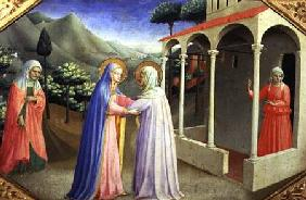 Visitation, from the predella of the Annunciation Alterpiece c.1430-32