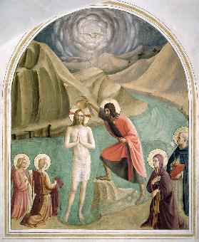 The Baptism of Christ c.1438-45