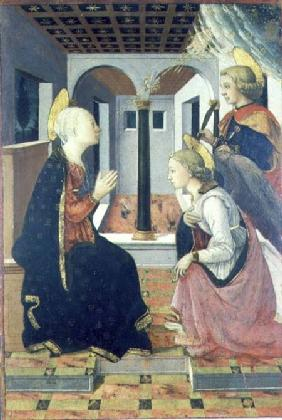 The Annunciation with St. Julian (panel)
