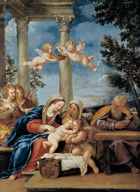 The Holy Family with St. Elizabeth and St. John the Baptist c.1645-50