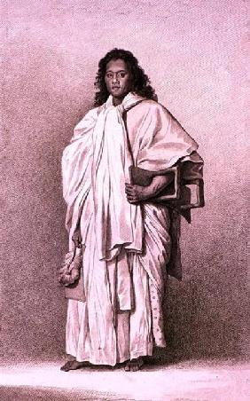 Omai a Native of Ulaietea 1774