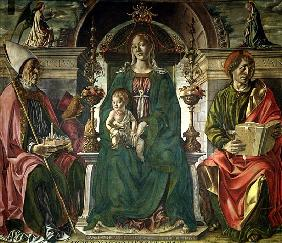 The Virgin and Saints
