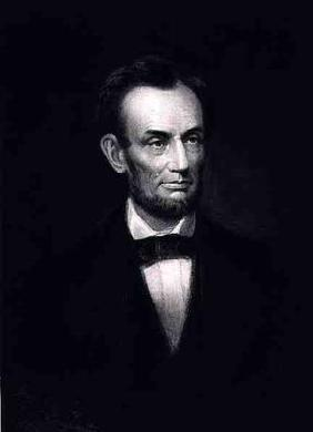 Abraham Lincoln, 16th President of the United States of America, 1864, pub. 1901 (photogravure) 1778