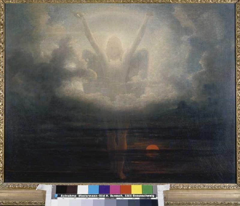 Szene aus der Apokalypse - Francis Danby als Kunstdruck oder ...