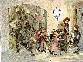 The Baked Potato Seller, from 'The Book of Shops' 1899