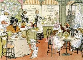 The Tea Shop, from 'The Book of Shops' 1899