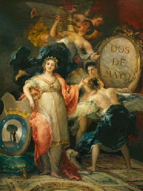 Allegory of the City of Madrid 1810