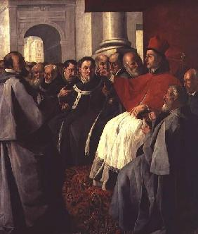 St. Bonaventure (1221-74) at the Council of Lyons in 1274 1627