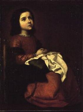 The Childhood of the Virgin c.1660