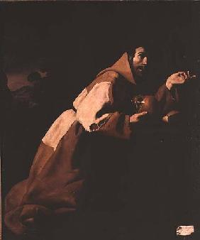 St. Francis in Meditation 1639
