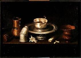 Still Life with a Bowl of Chocolate, or Breakfast with Chocolate c.1640