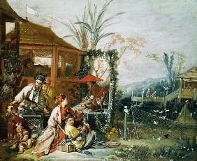 The Chinese Hunt c.1742
