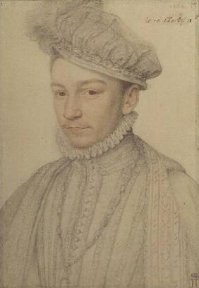 Portrait of King Charles IX of France 1566