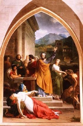 The Death of Sapphira 1819