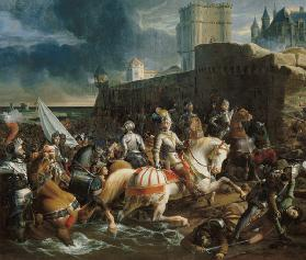 The Taking of Calais by Francis on 9th January 1558  c.on 9th