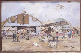 The Airfield 1918  on