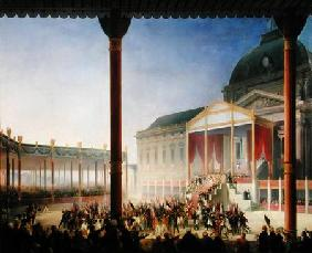 Kunstdruck von François-Joseph Heim - Assembly of the Champ de Mai