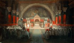 The Chapter of the Order of the Templars held at Paris, 22nd April 1147 1844
