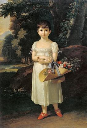 Portrait of Amelia Oginski 1808