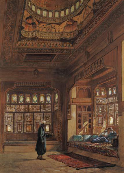 The Harem of Sheikh Sadat, Cairo 1870