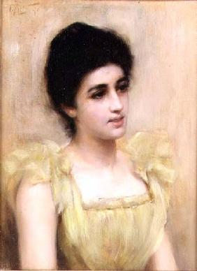 The Yellow Dress 1890