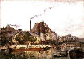The Quay de Valmy 1905