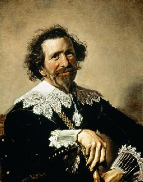 Pieter van der Broecke (1585-1641) The Man with the Cane 1633