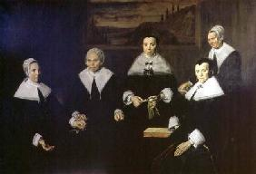 The Regentesses of the Old Men's Almhouse, Haarlem 1664