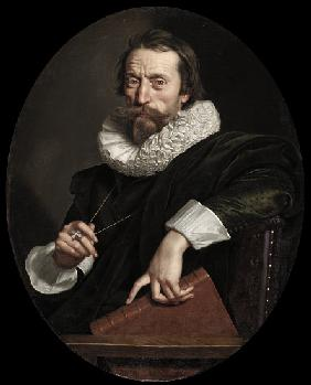 Portrait of the Italian poet, Giambattista Marino 1621