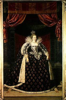 Marie de Medici (1573-1642) in Coronation Robes c.1610