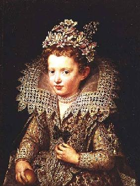 Portrait of the Princess of Mantua as a child